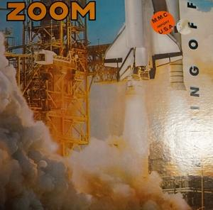 Album  Cover Zoom - Blasting Off on MCA Records from 1983