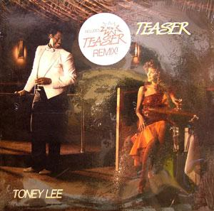 Album  Cover Toney Lee - Teaser on VISION Records from 1986