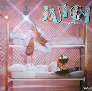 Album  Cover Juicy - It Takes Two on PRIVATE EYE Records from 1985