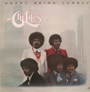 Album  Cover The Chi-lites - Happy Being Lonely on MERCURY Records from 1976