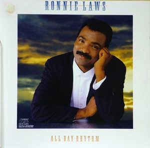 Album  Cover Ronnie Laws - All Day Rhythm on COLUMBIA Records from 1987