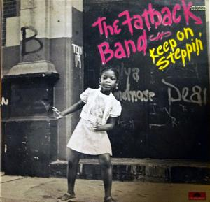 Front Cover Album Fatback - Keep On Steppin'