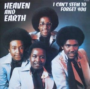 Album  Cover Heaven & Earth - I Can't Seem To Forget You on G.E.C. Records from 1976