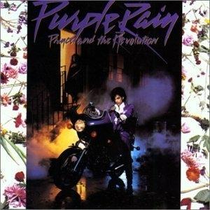 Album  Cover Prince - Purple Rain on WARNER BROS. Records from 1984