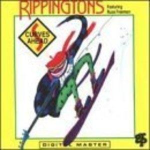 Album  Cover Russ Freeman & The Rippingtons - Curves Ahead on GRP Records from 1991