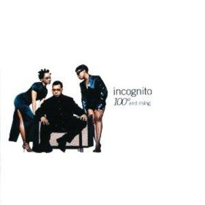 Front Cover Album Incognito - 100 Degrees And Rising