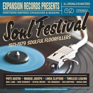 Album  Cover Various Artists - Soul Festival on  Records from 2017