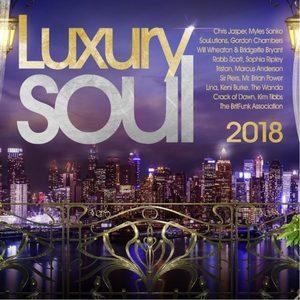 Album  Cover Various Artists - Luxury Soul 2018 on EXPANSION Records from 2017