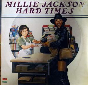 Album  Cover Millie Jackson - Hard Times on POLYDOR Records from 1982