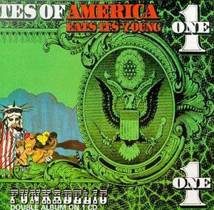 Album  Cover Funkadelic - America Eats Its Young on WESTBOUND Records from 1972