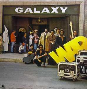 Album  Cover War - Galaxy on MCA Records from 1977