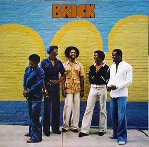 Album  Cover Brick - Brick on BANG Records from 1977