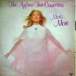 Album  Cover Andrea True Connection - More, More, More on BUDDAH Records from 1976