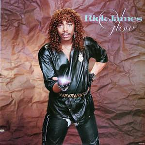 Album  Cover Rick James - Glow on GORDY Records from 1985