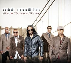Album  Cover Mint Condition - Music @ The Speed Of Life on SHANACHIE Records from 2012