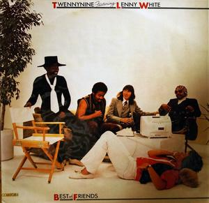 Album  Cover Twennynine Featuring Lenny White - Best Of Friends on ELEKTRA Records from 1979