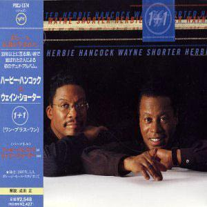 Album  Cover Herbie Hancock - 1+1 on POLYGRAM Records from 1997