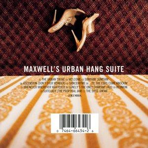 Album  Cover Maxwell - Urban Hang Suite on COLUMBIA Records from 1996