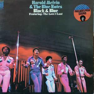 Front Cover Album Harold Melvin & The Blue Notes - Black & Blue