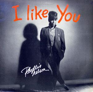 Album  Cover Phyllis Nelson - I Like You on CARRERE Records from 1985