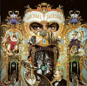 Album  Cover Michael Jackson - Dangerous on EPIC Records from 1991