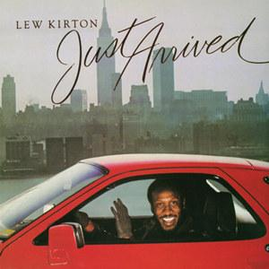 Front Cover Album Lew Kirton - Just Arrived