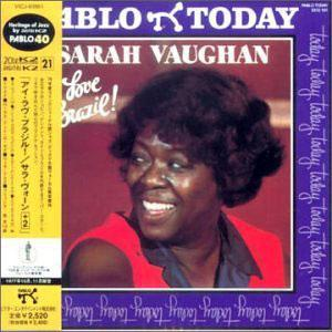 Front Cover Album Sarah Vaughan - I Love Brazil
