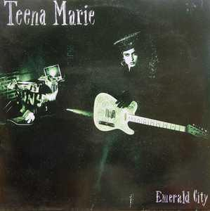 Album  Cover Teena Marie - Emerald City on EPIC Records from 1986