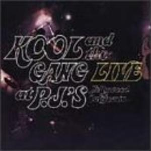 Album  Cover Kool & The Gang - Live At P.j.'s on DE-LITE Records from 1971