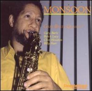 Album  Cover Gary Bartz - Monsoon on STEEPLE CHASE Records from 1988