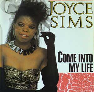 Front Cover Album Joyce Sims - Come Into My Life