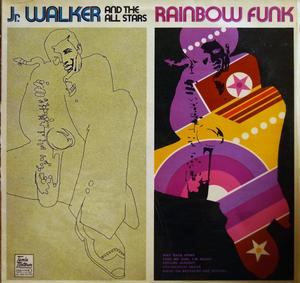Album  Cover Junior Walker & The All-stars - Rainbow Funk on TAMLA MOTOWN Records from 1971