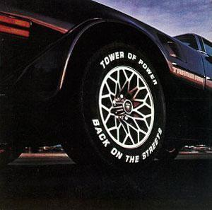Front Cover Album Tower Of Power - Back On The Streets
