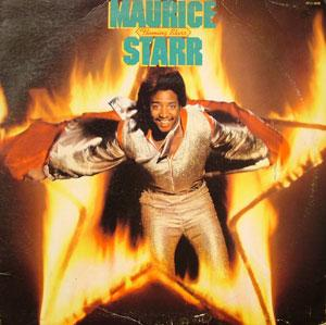 Front Cover Album Maurice Starr - Flaming Starr
