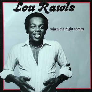 Front Cover Album Lou Rawls - When The Night Comes