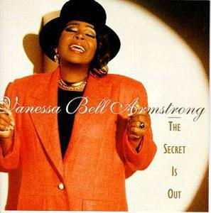 Album  Cover Vanessa Bell Armstrong - The Secret Is Out on VERITY Records from 1995