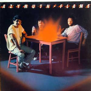 Album  Cover Azymuth - Flame on MILESTONE Records from 1984