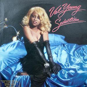 Album  Cover Val Young - Seduction on GORDY Records from 1985