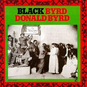 Album  Cover Donald Byrd - Black Byrd on BLUE NOTE Records from 1972