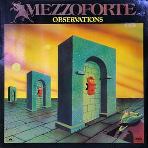 Front Cover Album Mezzoforte - Observations