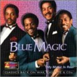 Album  Cover Blue Magic - My Magic Is Real on HOT PRODUCTION Records from 1995