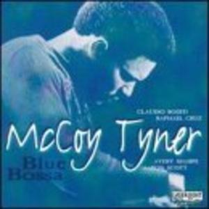 Album  Cover Mccoy Tyner - Blue Bossa on LRC Records from 1991