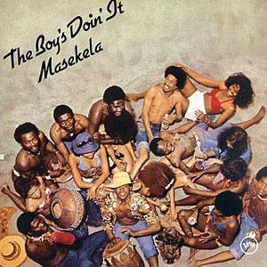 Album  Cover Hugh Masekela - The Boy's Doin' It on CASABLANCA Records from 1975