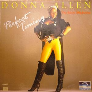 Album  Cover Donna Allen - Perfect Timing on PORTRAIT Records from 1987