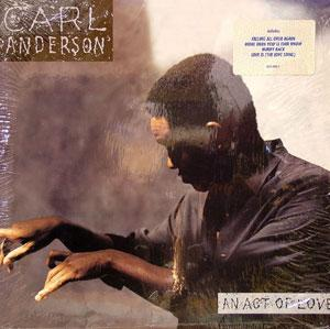Album  Cover Carl Anderson - An Act Of Love on POLYDOR Records from 1988