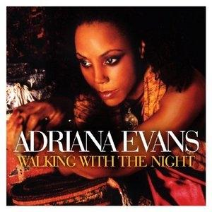 Album  Cover Adriana Evans - Walking With The Night on  Records from 2010