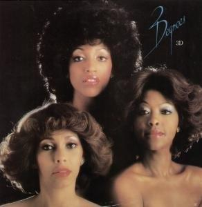 Album  Cover The Three Degrees - 3d on ARIOLA Records from 1979