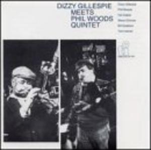 Album  Cover Dizzy Gillespie - Dizzy Gillespie Meets The Phil Woods Quintet on TIMELESS Records from 1986