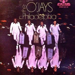 Front Cover Album The O'jays - The O'Jays In Philadelphia 1970