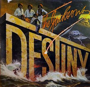 Front Cover Album The Jacksons - Destiny